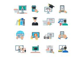 在线教育平台图标_1538756