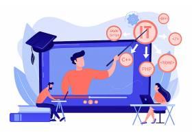 在网上教学生网络学习计算机编程_12085295
