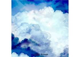 逼真的天空背景_3721643