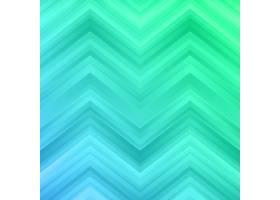 绿色和蓝色之字形背景_849340