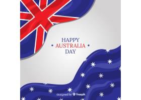 澳大利亚日背景_3538647