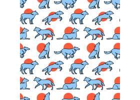 狼群拖拽跳跃和奔跑的图标_1311317