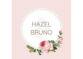 用玫瑰花矢量装饰的婚礼邀请卡_3593320