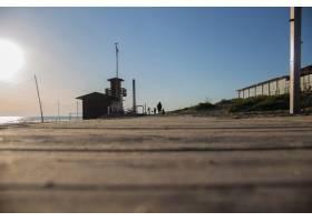 海滩上的一家人_3677564