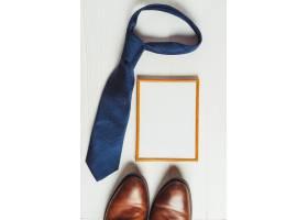 带白板和领带的父亲节概念_2246375