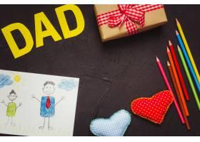 父亲节作文与孩子们绘画_2178437