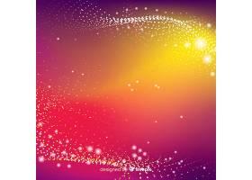 发光粒子背景_4107555