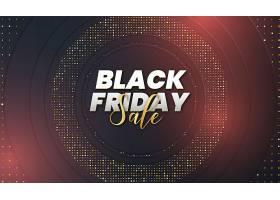 黑色星期五促销带有抽象的3D奢侈品背景_10966621