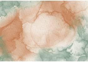 绿染金醇水彩水墨抽象典雅_12158146