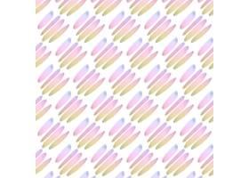 粉彩线条抽象水彩无缝图案_12395381