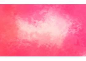 粉红色水彩背景_6167076