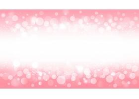 粉红色背景上的模糊波克灯光效果_8243139