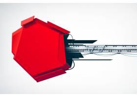 现实主义技术高科技客体作为工业广告牌广告_11242846