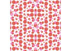 水彩画抽象点点无缝图案_12395329