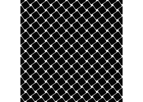 无缝黑白正方形图案几何半色调抽象矢量背_1258575