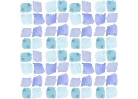 方块抽象水彩无缝图案_12395376