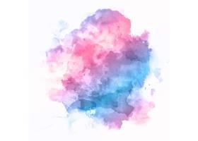 抽象背景色彩斑斓的细节水彩画质感_10852059