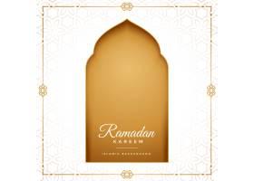 开斋节穆巴拉克斋月卡里姆伊斯兰问候设计_13304600