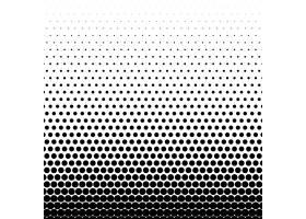 圆形黑色半色调矢量背景_2478678