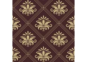 复古墙纸天衣无缝复古风格的背景设计_11053852