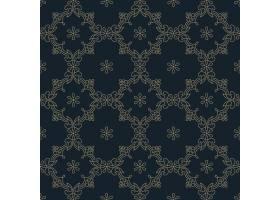 Zentangle样式的几何装饰图案元素_9662893
