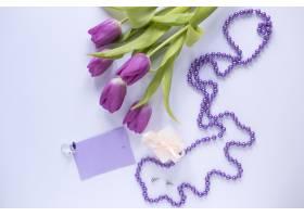 紫玫瑰的母亲节概念_1956861