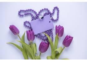 紫花母亲节概念_1956859