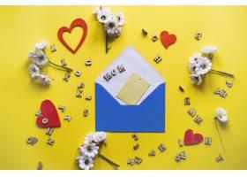 带信封和元素的母亲节作文_1958378