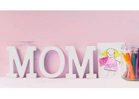 母亲节概念与绘画_2028016