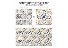 逼真的陶瓷地砖复古图案一种类型或一套由_6869564