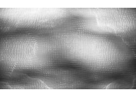 矢量抽象大数据可视化灰度发光数据流为二_10735089