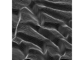 矢量条纹灰度背景抽象线波声波振荡_9083468