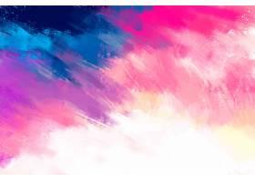 渐变粉红色手绘背景_6659045