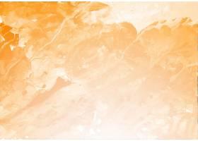 漂亮的橙色飞溅水彩纹理背景_9853371