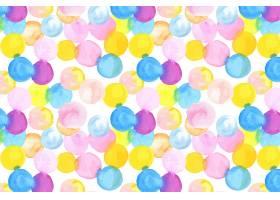 点状抽象水彩画无缝图案_12395374