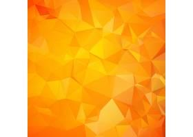 橙色三角形几何图案_1434944