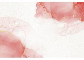淡雅的粉色酒精水墨抽象流体画_12691805