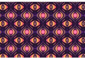 无缝的几何形状时髦的图案质感_12371708
