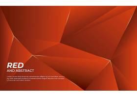 抽象背景为红色和光面_10122341