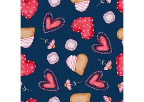 收藏五颜六色的心形蛋糕等元素插图_13555411