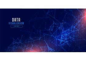 数据可视化技术网络网格背景设计_12970399