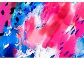 抽象水彩画无缝图案_12263104