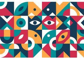 抽象几何背景平面设计_12262865