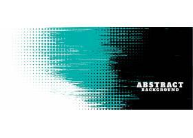 抽象垃圾纹理和半色调横幅设计_8038831