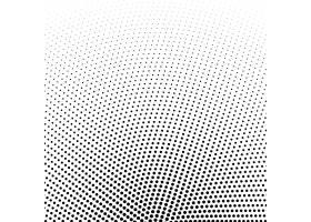 圆形半色调网点矢量背景_1725109