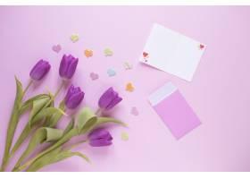 母亲节背景卡片和玫瑰花_1958397