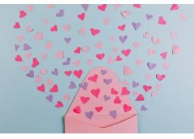 母亲节送红心和粉色信封_1950691