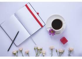 母亲节静物节有书和咖啡_1958412