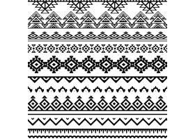 黑白部落图案_953063