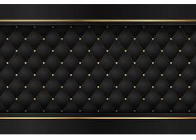 黑色高级带有奢华的暗金色几何元素_13195109
